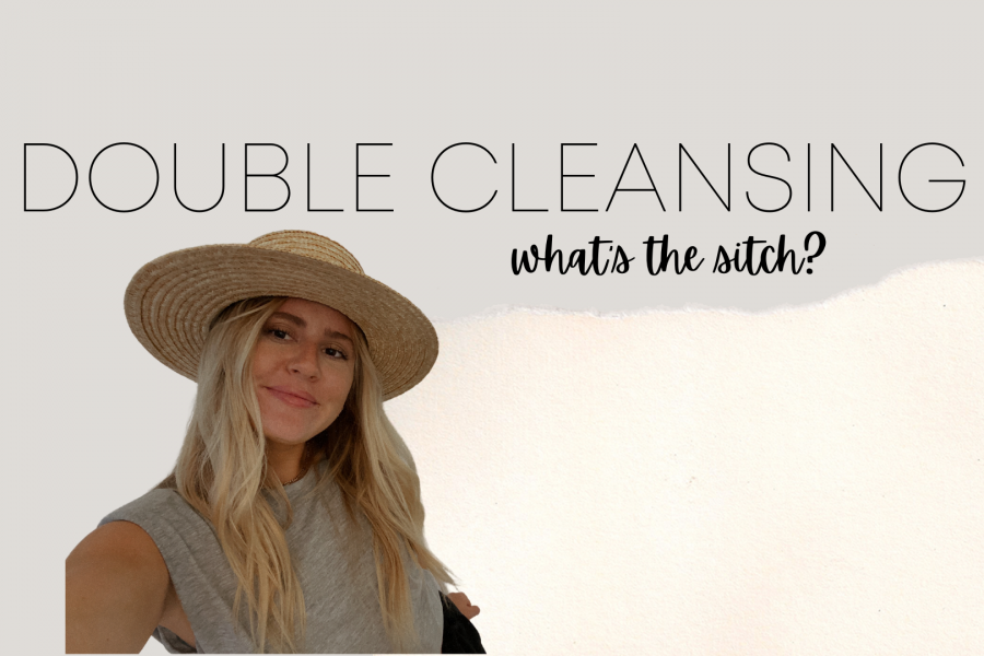 Why you should double cleanse your face and scalp
